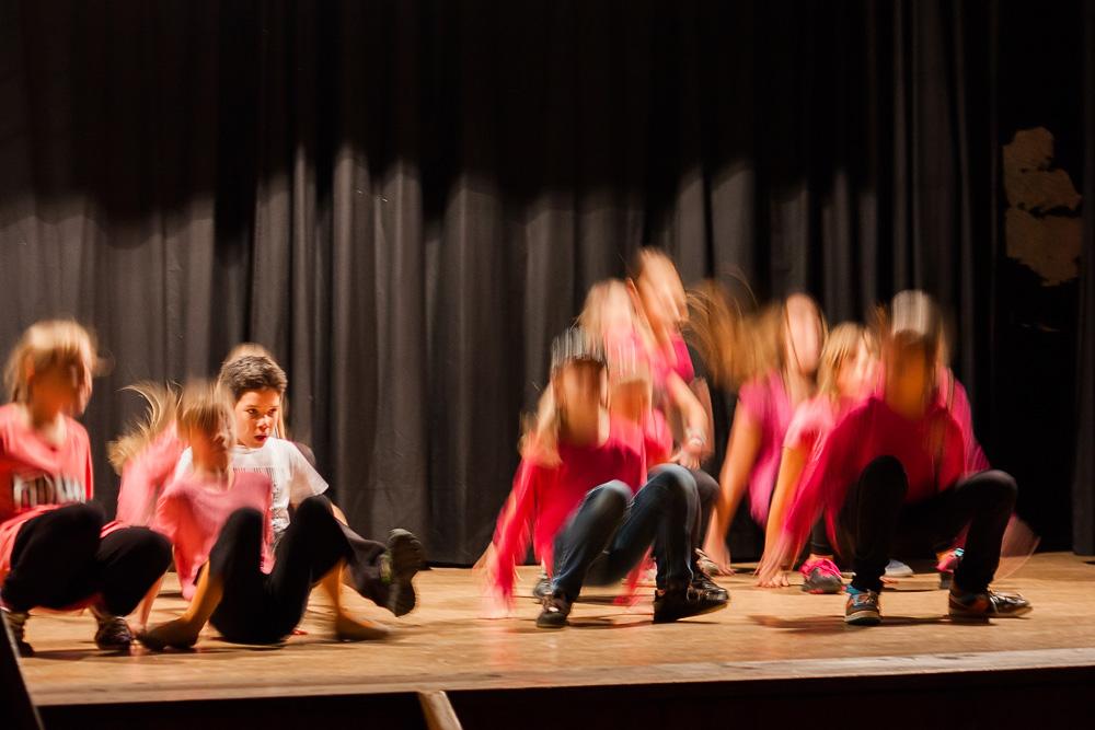 Taneční vystoupení High Edition